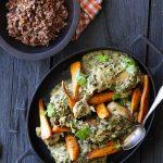 Kylling med mandler og persille