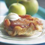 Tarte tatin med æbler og ingefær