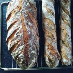 Durumflutes og brød