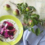 Rødbedesalat med æbler og peberrod
