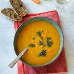 Gulerodssuppe med havtorn